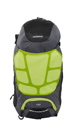 Shimano Hotaka Rucksack 32 Liter ohne Trinkblase electric green